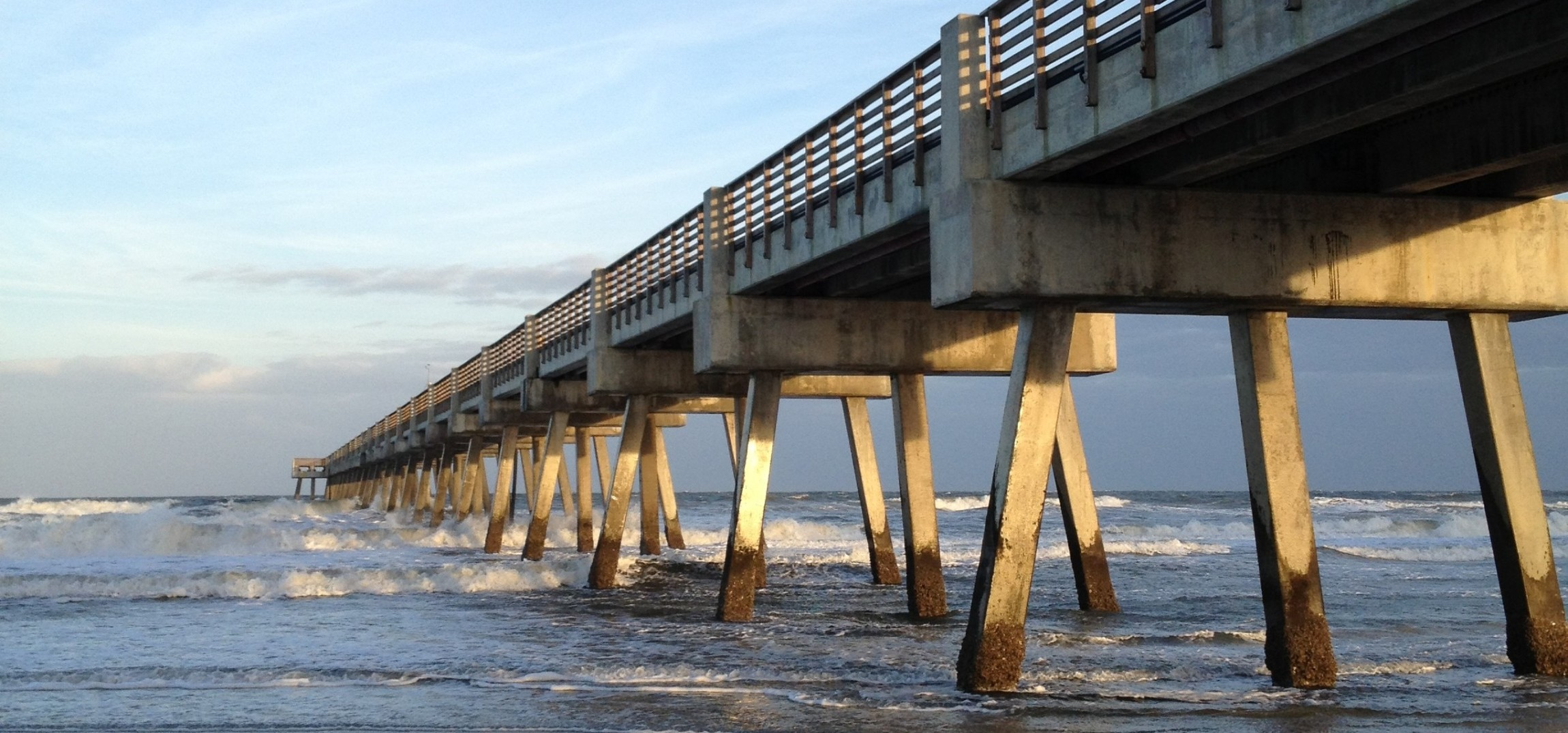 First coast best beaches first coast adventures first for Jacksonville fishing pier